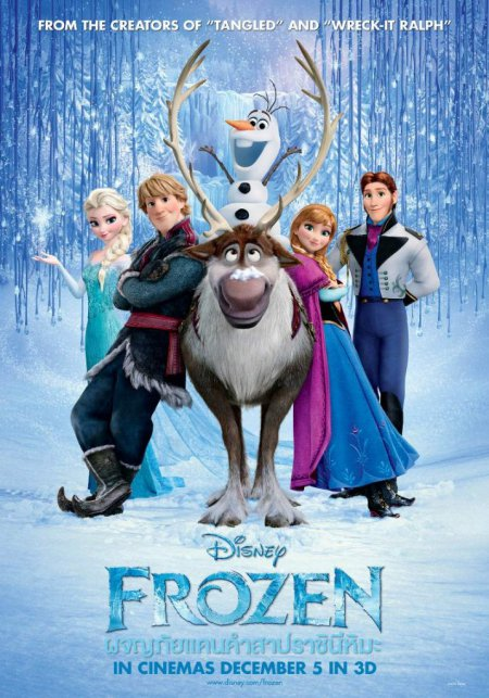 ดูหนังออนไลน์ Frozen ผจญภัยแดนคำสาปราชินีหิมะ 2013 พากย์ไทยเต็มเรื่อง HD มาสเตอร์ ดูหนังฟรี ดูหนังใหม่