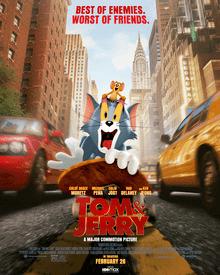 ดูหนังออนไลน์ Tom & Jerry (2021) ทอม แอนด์ เจอร์ รี่เต็มเรื่อง HD มาสเตอร์ ดูหนังฟรี ดูหนังใหม่